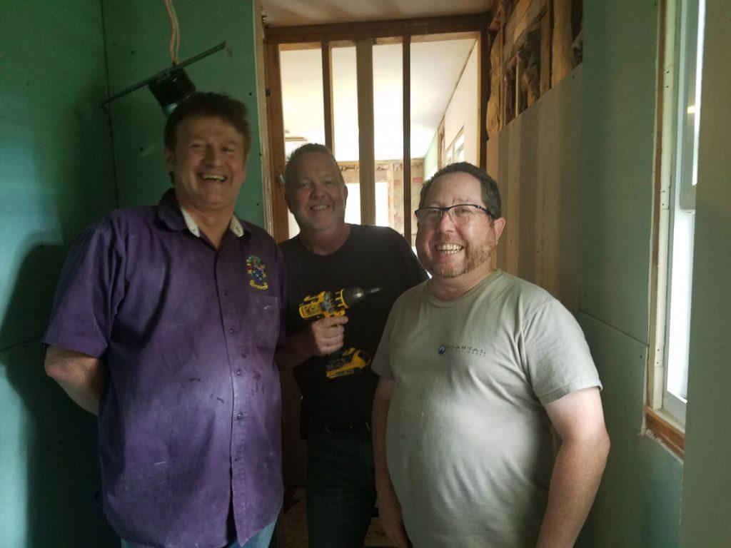 NARI NYC/LI Members Laurence Carolan, John Hogan and Eric Vogel