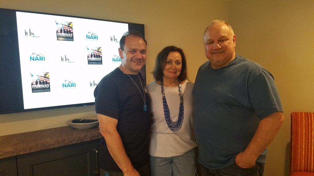 Joe Calise, Dee Manicone and Steve Probst