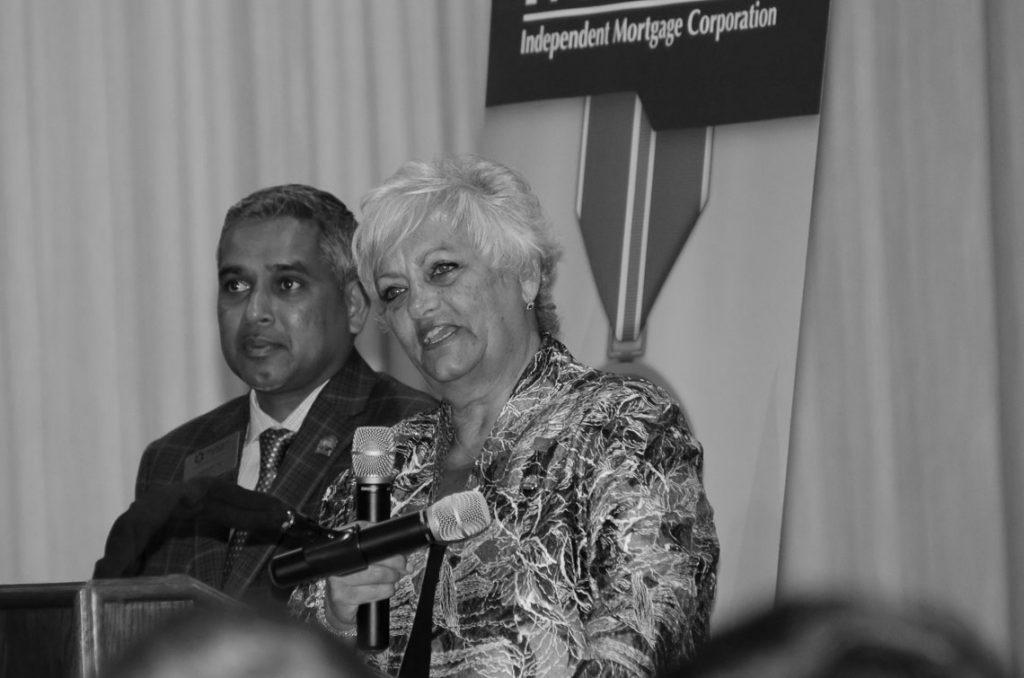 Moses Seuram and Dianne Scalza of LIBOR