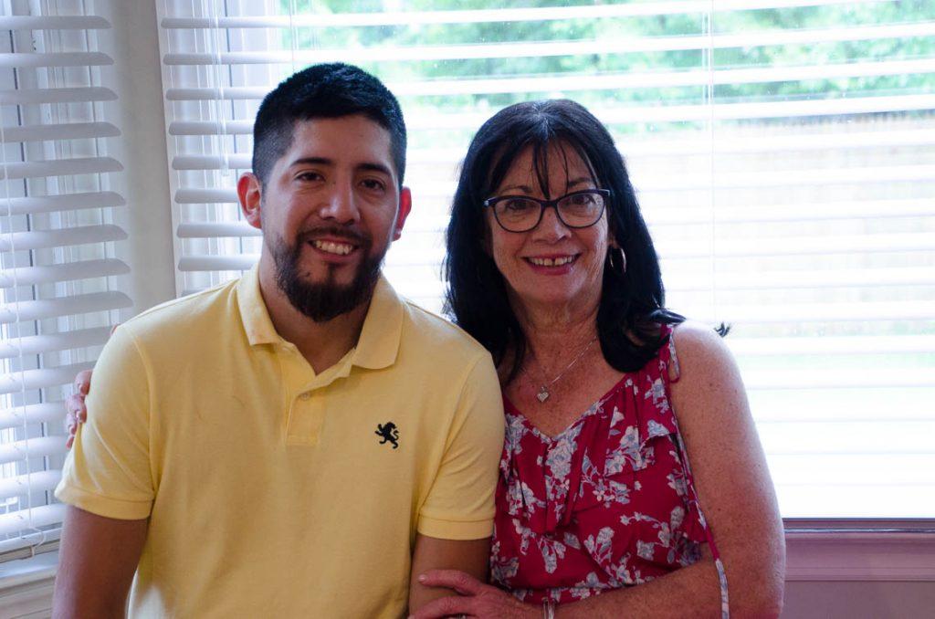 Kevin Palacios and Peggy Guerrin
