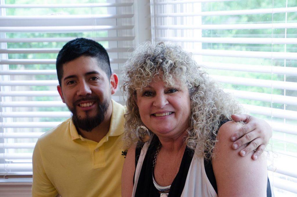 Kevin Palacios and Wendy Lepkoff