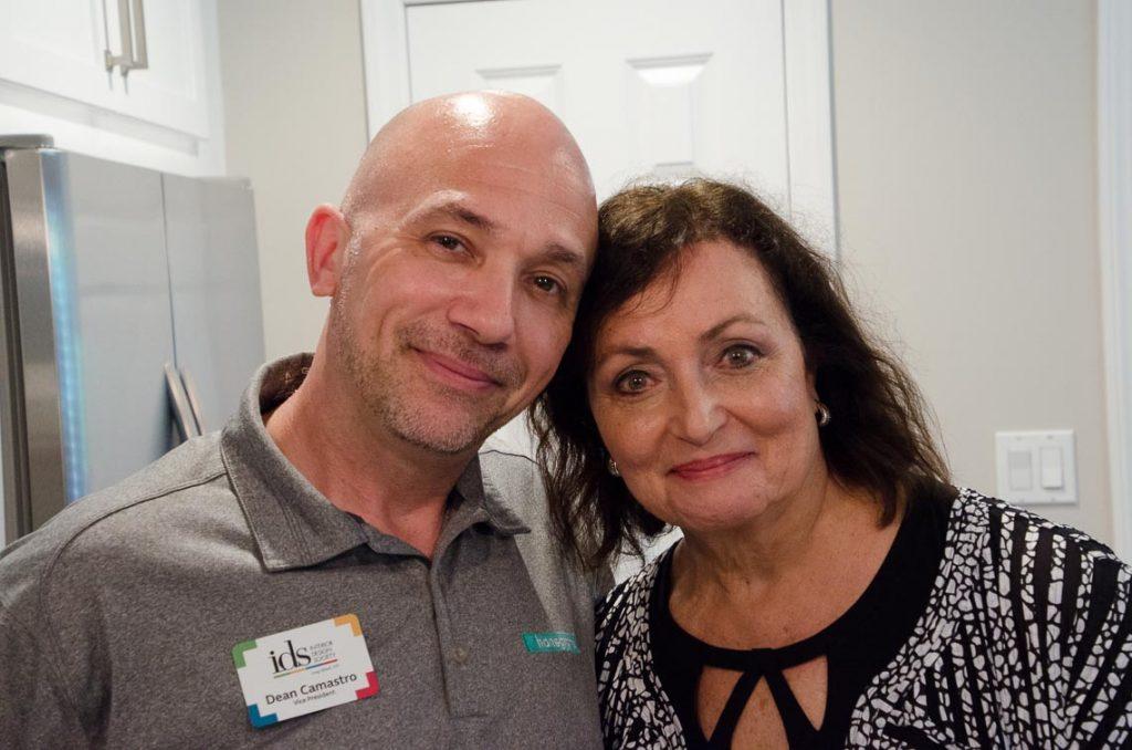 Dean Camastros and Dee Manicone
