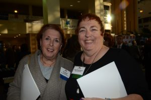 Photo of Lois Howes and Trudy Fitzsimmons at a Smart Growth Summit